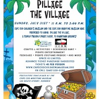 """Pillage the Village"" Family Pirate Day"