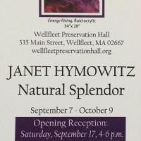 "Art at the Hall: Janet Hymowitz ""Natural Splendor""..."