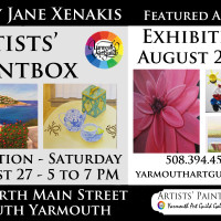 Mary Jane Xenakis Featured Artist August 24 to 30; Reception Saturday, August 27, 5 to 7 PM