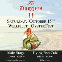 The Daggers at Wellfleet OysterFest Main Stage