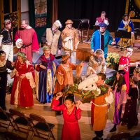 Solstice Singers presents Joyful'st Feast - spirited songs, instrumental music, drama, and dance