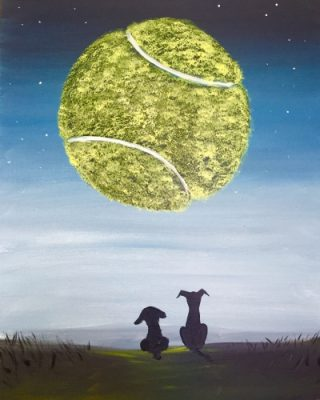 Paint Nite at Cape Cod Beer - Dog's Moon
