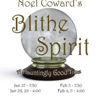 "Falmouth Theatre Guild Presents Noel Coward's ""Blithe Spirit"""