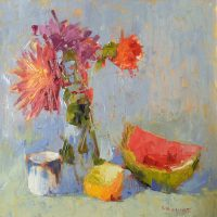 2020 Oil Painting Workshop, Still Life in the Studio, with Carol Maguire