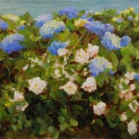 Plein Air in the Garden in Oil with Kathy Anderson. June 29, 30 and July 1, 2020.