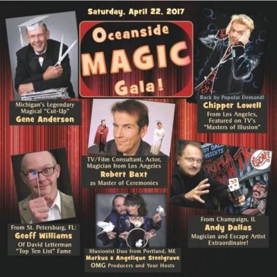 Oceanside Magic Gala--OMG! Magic, Comedy, and Illusion Onstage