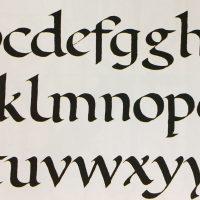 The Art of Calligraphy with Karen Maker