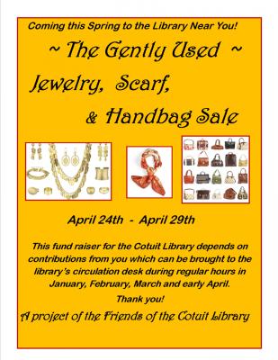 The Gently Used Jewelry, Scarf & Handbag Sale