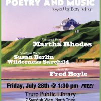 Summer Afternoon of Poetry & Music