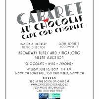 Cabaret Au Chocolat - Cape Cod Chorale