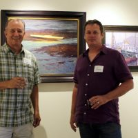 Frank Gardner and Marc Hanson Opening Reception