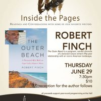 Inside the Pages Author Series: Robert Finch