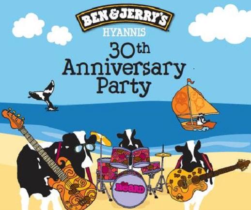 Ben & Jerry's Hyannis 30th Anniversary Celebration