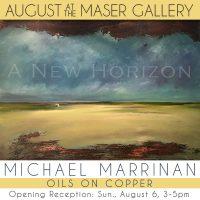 """A New Horizon"" - Artworks by Michael Marrinan"