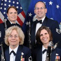 American Air Force Clarinet Quartet