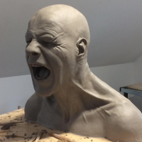 Sculpture Workshop With Neil Grant: Realistic Head...