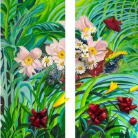 The Artist and the Garden: Works by Andrea Moore