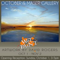 """Wet Paint"" - Artwork by David Rogers"