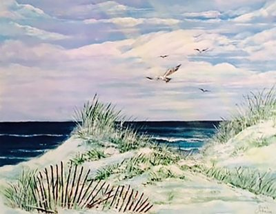 Featured Artist Joan Johnson at Eastwind Gallery, ...