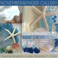 """""""Reflections by Robin"""" Coastal-inspired Mirrors &a..."""