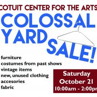 CCftA Colossal Yard Sale!