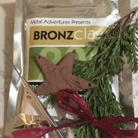 BRONZE HOLIDAY ORNAMENTS with Kim Rumberger