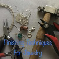 FINISHING TECHNIQUES FOR JEWELRY with Kim Rumberger