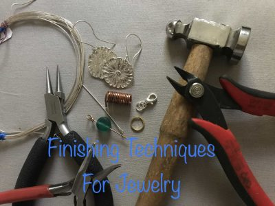FINISHING TECHNIQUES FOR JEWELRY with Kim Rumberge...