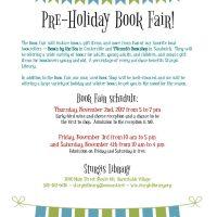 Pre-Holiday Book Sale