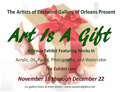 """Art Is A Gift"" a group exhibit."