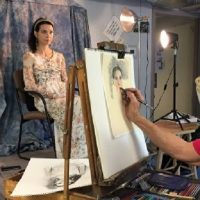 Open Studio with a Model No Instructor