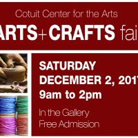 Cotuit Center for the Arts Annual Holiday Arts & Crafts Fair