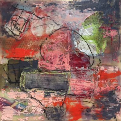 Creating Depth with Encaustic and Paper with Rae M...