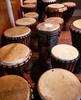 Drum Together-Kids African Drumming with Tara Murp...
