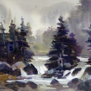 Landscape in Watercolor with Don Andrews