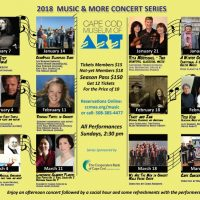 Music & More! Concert Series at Cape Cod Museum of Art
