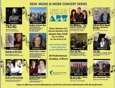 Music & More! Concert Series at Cape Cod Museu...