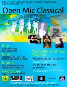 Open Mic Classical