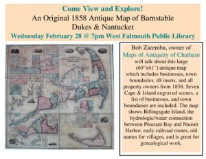 1858 Local Antique Map Viewing