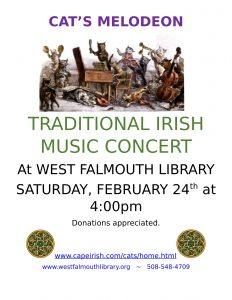 """""""Cat's Melodeon"""" Traditional Irish Music"""