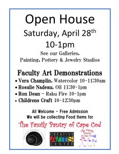 Creative Arts Center Open House