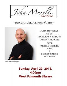 Baritone John Murelle in Concert