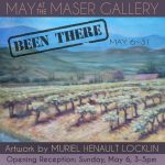 """Been There"" - Artwork by Muriel Henault Locklin"