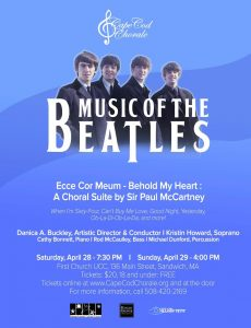 Cape Cod Chorale Music of the Beatles