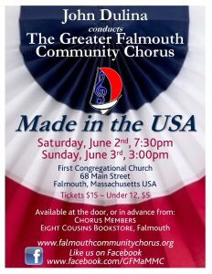 "GFCC presents ""Made in the USA"""