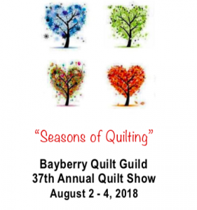 Bayberry Quilters Annual Quilt Show