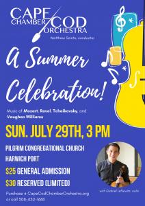 Cape Cod Chamber Orchestra Summer Celebration