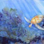 June 9 Marine Reefs Wet on Wet (Watercolor) Workshop w/ Evelyn Bernal