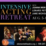 Intensive Acting Retreat on Cape Cod