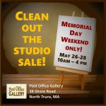 CLEAN OUT THE STUDIO SALE!